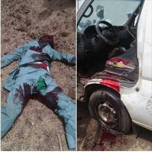 Driver Transporting Rice From Niger Republic Shot In The Head By Customs Officers In Sokoto (Photos)