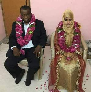 See this 15-year-old Indian girl married off to an old Nigerian man (Photos)