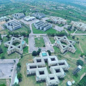 """All i see is Illuminati Everywhere, Devil rules the world"" – Nigerians react as Twitter user shares aerial view of Covenant University (Photos & Tweets)"