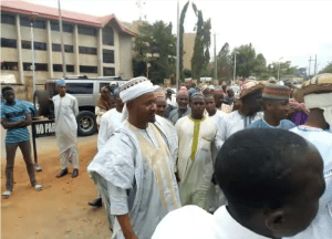 Fulani Herdsmen storm Abuja court, demand justice over anti-open grazing law (Photo)