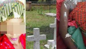 Heartbreaking! How a nursing student was raped, bathed with acid, dumped in a cemetery (Photo)