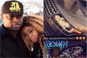 Tonto Dikeh's Ex, Malivelihood Gets A New Range Rover From His Girlfriend, Deola Smart (Photos)