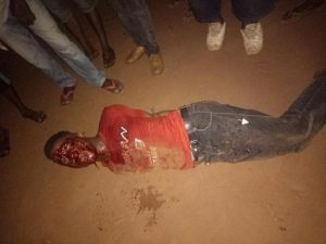 Young Man Beaten To Stupor After Being Caught Stealing From A Home In Anambra (Graphic Photos)