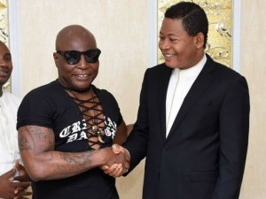 Area Father, Charly Boy becomes born again, gives his life to Christ at Christ Embassy church (Photos)