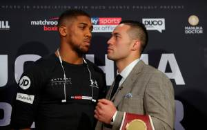 Anthony Joshua vs Joseph Parker: What time is the fight tomorrow, what TV channel is it on, what are they saying?