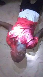 Cultist Killed By Rival Gang In Cross River State (Graphic Photo)