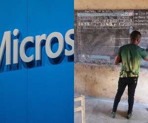 Microsoft To Support Man Who Drew MS WORD Template On Blackboard (Photos)
