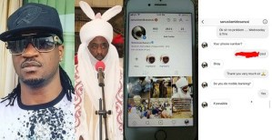 Paul Okoye shares conversation with the fake Emir Sanusi, who wanted to scam him of 5 million