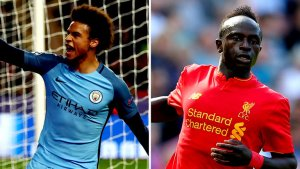 Sane, Mane, Ox Chamberlain, Ayew makes our English Team of the weekend