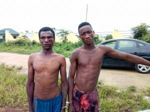 Vandals Caught In A Girl's Secondary School In Rivers State (Photos)