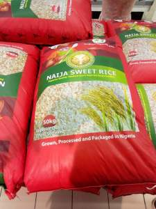Made in Nigeria rice seen in Shoprite (Photos)