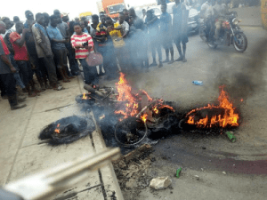 Three people burnt to death in Cross River over motorcycle theft