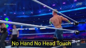 Some fake moments in WWE Wrestling (Video)