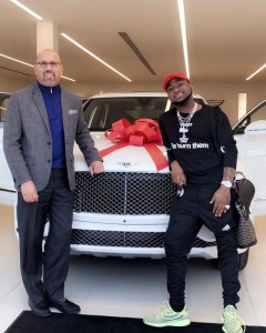 Check Out 8 Nigerian Celebrities Who Bought Cars In 2018 (Photos)