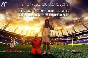 World Cup 2018! Terror Group ISIS Issues Another Threat To Russia In Picture Form