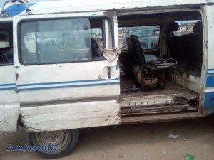 Check out this Danfo bus that uses Gas instead of fuel- (Photos)