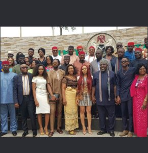 #BBnaija: See what Governor Rochas Okorocha gave Miracle and Nina as they visited Imo state