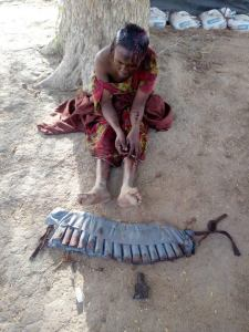 Female Suicide Bomber Caught While Trying To Blow Up A Mosque In Yobe. (Photo)