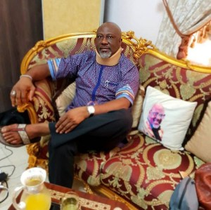 New Photo Of Senator Dino Melaye After Falling From A Police Vehicle (Photo)
