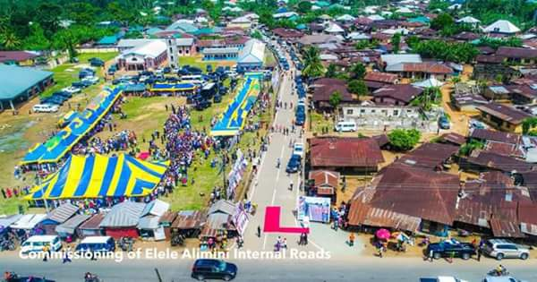 , Fayose Commissions 19 Internal Roads In Rivers State (Photos), Effiezy - Top Nigerian News & Entertainment Website