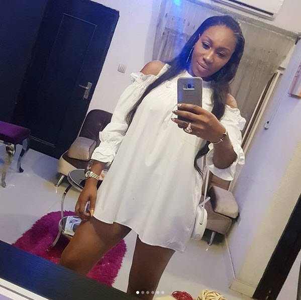 , Actress, Ebube Nwagbo Stuns In White Short Gown (Photos), Effiezy - Top Nigerian News & Entertainment Website