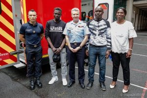 Mali Spiderman begins firefighting training in France (Photos)