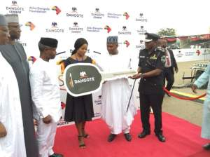 Dangote donates 150 patrol vehicles to the Nigerian Police Force (PHOTOS)