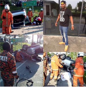 SAD: Nigerian Student, David Audu Killed In Fatal Accident While Returning From Club In Malaysia (Photos)