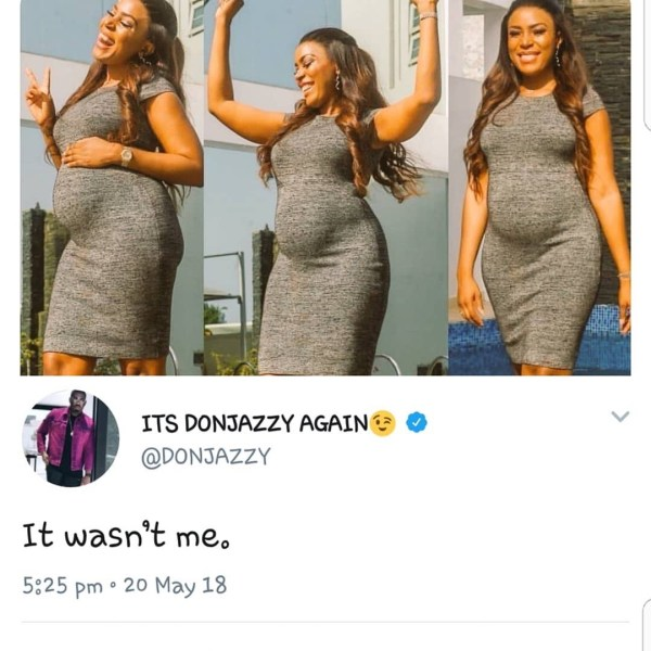 , See Don Jazzy's Reaction To Linda Ikeji's Pregnancy News (Photo), Effiezy - Top Nigerian News & Entertainment Website