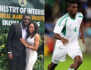 TROUBLE: Super Eagles star, John Ogu and wife unfollow each other on Instagram