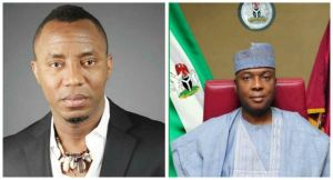 'Saraki Will Be Jailed When I Become President' – Sahara's, Sowore says