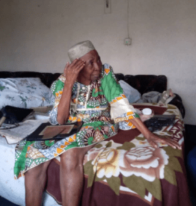 WOW!!! See this 94-year-old Nigerian woman who has lived all her life a sickle cell patient (Photos)