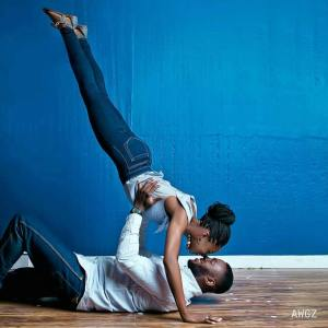 Check Out this Acrobatic Bride In Pre-Wedding Shoot (Photo)