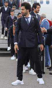 2018 World Cup: See How Mohammed Salah Arrived Russia For World Cup (Photos)