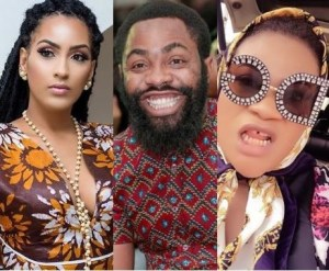 See The Hot Slap From Woli Arole That Made Nkechi Sunday Call Juliet Ibrahim Idiot (Video)