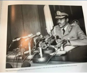 Buhari's First Day In Office As Military Head Of State 1983