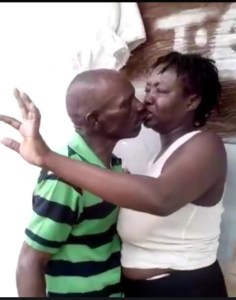 Married Woman Gets Stuck On The Lips While Kissing Her Secret Lover (Video & Photos)