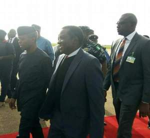 Plateau Killing: Nigerians blast Governor Lalong For Laughing As Osinbajo Visited Plateau Over Killings. (See Reactions)