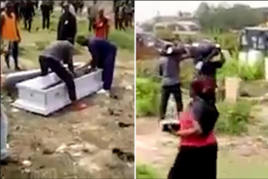 Eat The Corpse': Angry Family Drops Body Of A Man In Front Of The Hotel He Died In (Photo)