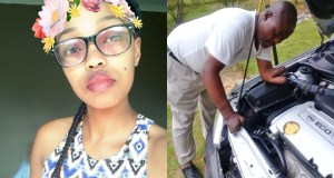 Young Lady Praises Father Who Lost His Hands But Still Works As A Builder (Photos)