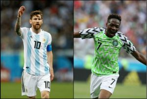 "Nigeria Vs Argentina; ""Ahmed Musa is not Lionel Messi yet,"" – Super Eagles Coach, Rohr"