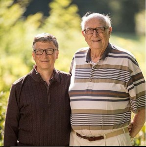 Bilionaire, Bill Gates Celebrates His Dad On Father's Day, Says He's The Real 'Bill Gates'