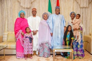 , President Buhari And His Family Celebrate Eid-mu-barak (Photos), Effiezy - Top Nigerian News & Entertainment Website