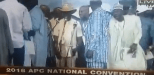 APC Chieftain Chants 'PDP-Power' During Apc Convention (Video)