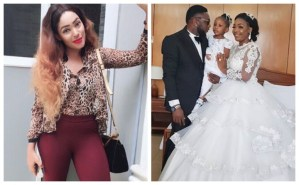 Actress, Sophia Williams Blast Fan Who Reminded Her Of Her Ex-Husband's Wedding White Wedding To Nuella Njubigbo