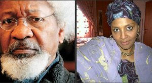 Your hatred for my father shall kill you – Abacha's daughter, Gumsu slams Wole Soyinka