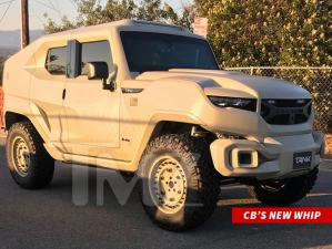 Singer, Chris Brown Buys A Bullet Proof SUV Tank For $350k (Photo)