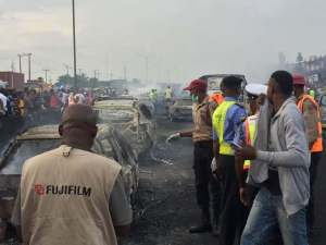 #Otedola: Lagos Announces Preliminary Findings Into Accident, Restricts Tanker Movements