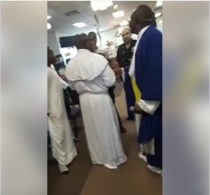 Police Storm Nigerian Church In New York As Members Fight (Photos, Video)