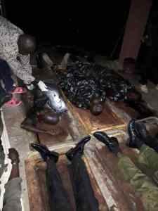 Seven Policemen Killed By Gunmen In Abuja. (Graphic Photo)